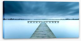 Jetty Stretched Canvas 176460833