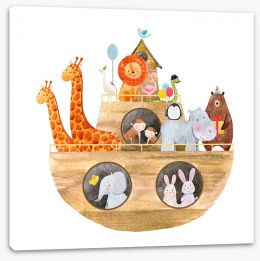 Animal Friends Stretched Canvas 182367516