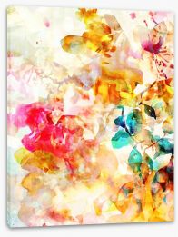 Abstract Stretched Canvas 184540224