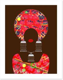 African Art Art Print 184959938
