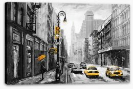 New York Stretched Canvas 186429671