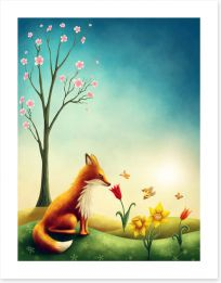Animal Friends Art Print 187660649