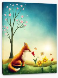Animal Friends Stretched Canvas 187660649