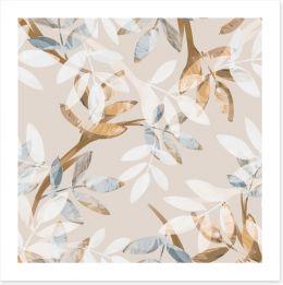 Leafy lull Art Print 187923235