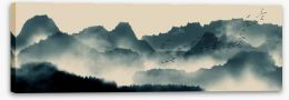 Chinese Art Stretched Canvas 191816582