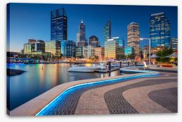 Perth Stretched Canvas 193129302