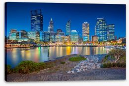Perth Stretched Canvas 194297574