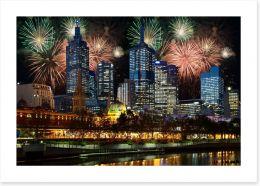 Melbourne celebrations