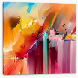 Abstract Stretched Canvas 197149745