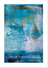 Winter blues Art Print 19791398
