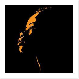 African Art Art Print 200402971