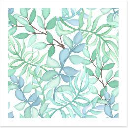 Leafy whisper Art Print 201837714