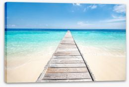 Jetty Stretched Canvas 203559756