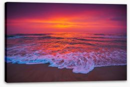 Beaches Stretched Canvas 204639186