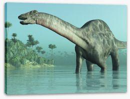 Dicraeosaurus paddle