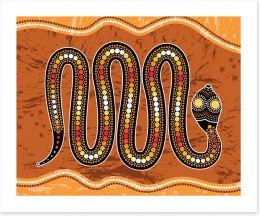 Aboriginal Art Art Print 207159483