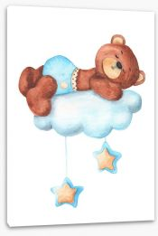 Teddy Bears Stretched Canvas 208576735