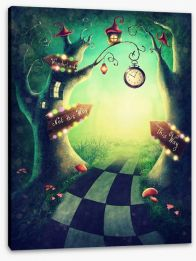 Magical Kingdoms Stretched Canvas 208867311