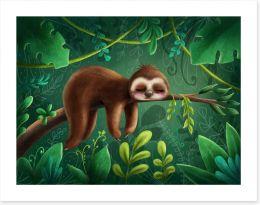 Animal Friends Art Print 210187897