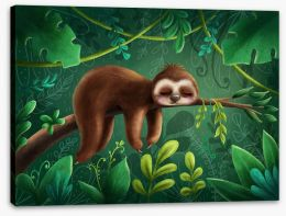 Animal Friends Stretched Canvas 210187897