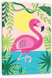 Animal Friends Stretched Canvas 210963251