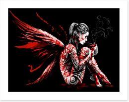 Fallen angel Art Print 212413603