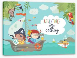 Pirates Stretched Canvas 212590427