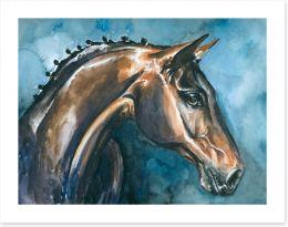 Mustang mare Art Print 21291868