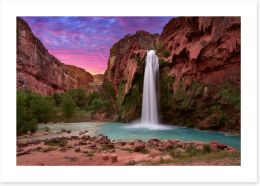 Waterfalls Art Print 214106674
