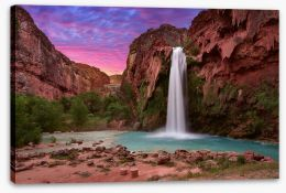 Waterfalls Stretched Canvas 214106674