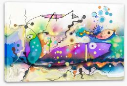 Under The Sea Stretched Canvas 214179263