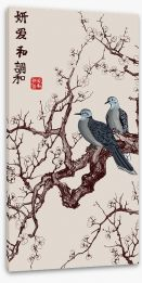Japanese Art Stretched Canvas 214343843
