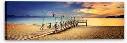 Jetty Stretched Canvas 214630338