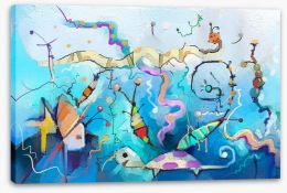 Under The Sea Stretched Canvas 215045027