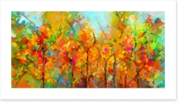Autumn Art Print 215045461