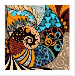 African Art Print 215520498