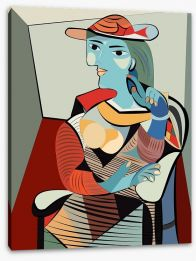 Cubism Stretched Canvas 215837335