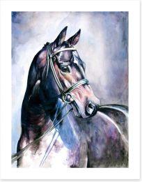 Soulful mare Art Print 21596584