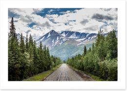 North America Art Print 216335121
