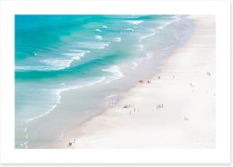 Beaches Art Print 216402808