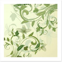 Spring revival Art Print 21645637