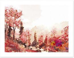 Autumn Art Print 216578191