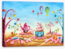 Magical Kingdoms Stretched Canvas 216961007