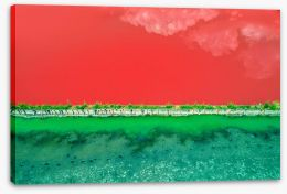 Abstract Stretched Canvas 217603102