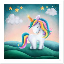 Pretty Pink Art Print 218605691