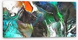 Abstract Stretched Canvas 220318174