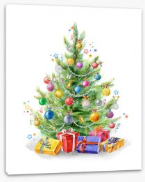 Christmas Stretched Canvas 221178559