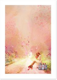 She Shack Art Print 221743444