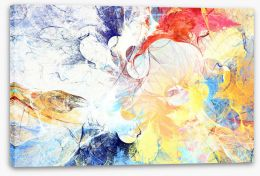 Abstract Stretched Canvas 222436497