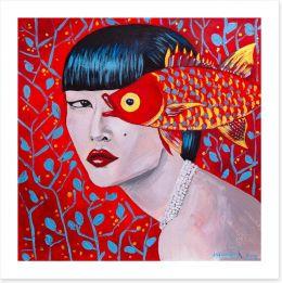 Chinese Art Art Print 223706401